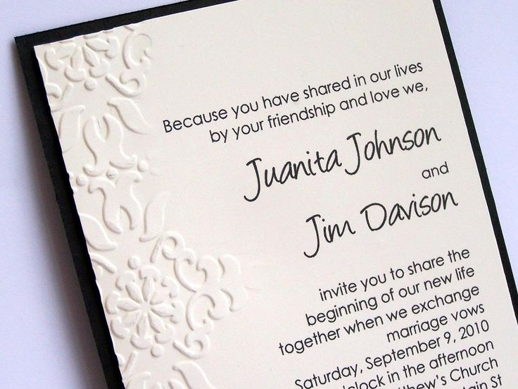 Top 17 Idei Despre Wedding Invitation Wording Samples Pe Pinterest