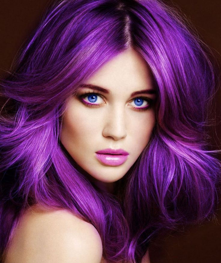 How to Use Purple Hair Color to Make Your Hair More Beautiful Full Color