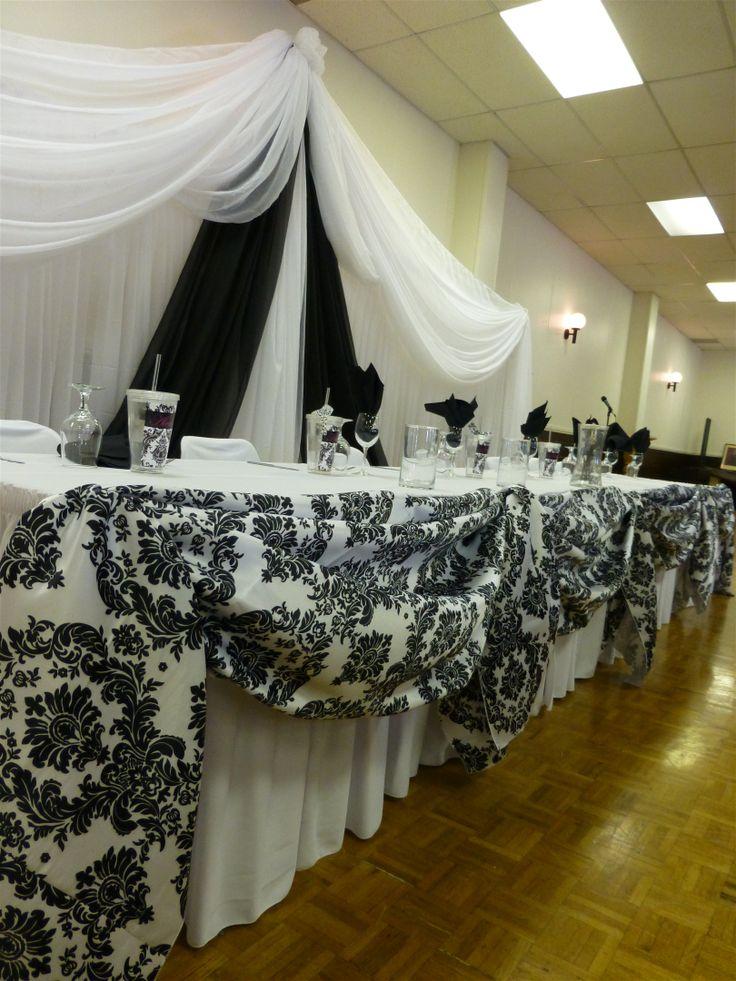 Creative Wedding Black amp White Backdrops And
