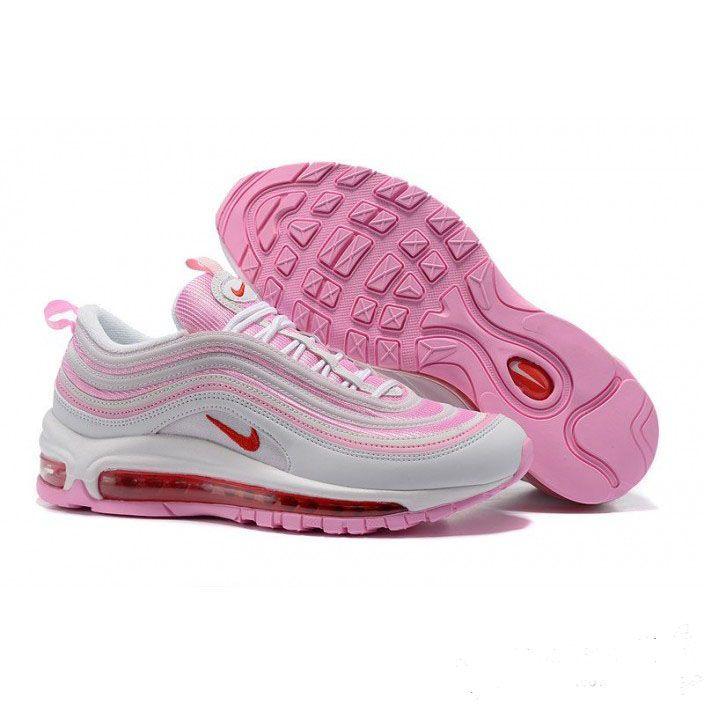 separation shoes 56245 91c82 ... billige damer nike air max thea flyknit running sko svart dark peach  771e5 f4f23  france the nike air max 97 mens shoe keeps the sneaker  favorite going ...