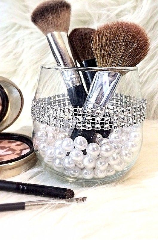 70 Best Images About Diy Makeup Brush Holders On Pinterest
