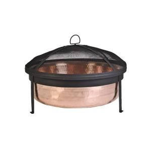 CobraCo, Hand Hammered 100% Copper Fire Pit, SH101 at The Home Depot - Mobile