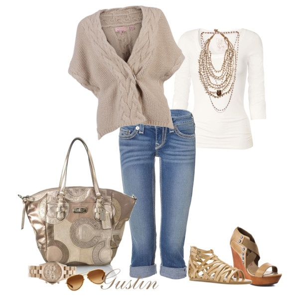 Love it!: Shoes, Sweaters, Coach Bags, Style, Spring Casual, Heels, Flats, Casual Outfits, Spring Outfits