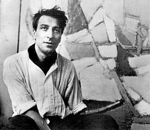 """""""Lorsque ma peinture devient bonne, je sens toujours atrocement une grande part de hasard, comme un vertige, une chance."""" Nicolas de Stael (Saint-Pétersbourg, 1914 - Antibes, 1955)."""
