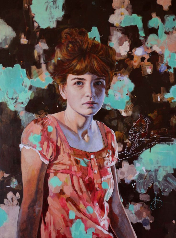 Jasmine Middlebrook - If you were quick (2014) oil on board - http://nzartsite.com/exhibitions/jasmine-middlebrook