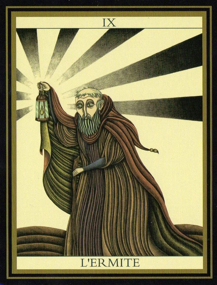The Hermit Tarot Card Meaning In Readings Isolation: 279 Best Images About Tarot Art