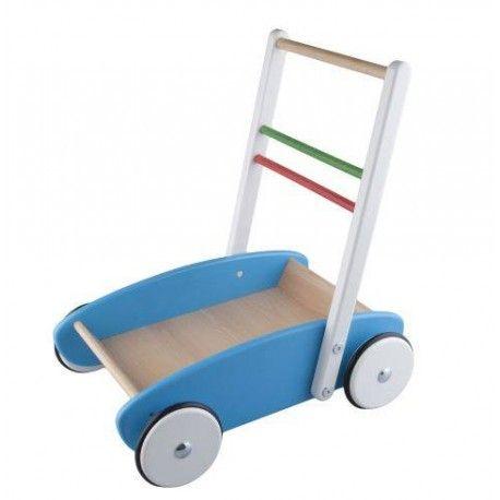 Drewniany Chodzik dla Dziecka do Pchania z drewna bukowego, pomalowany farbami bezpiecznymi.   Idealna zabawka dla maluszków, które uczą się stawiać pierwsze kroki - jest stabilny dzięki czemu stanowi oparcie dla dziecka.  Sprawdźcie sami:)  http://www.niczchin.pl/drewniane-zabawki-do-pchania-ciagniecia/1427-drewniany-chodzik-lupo-toys.html  #chodzik #pchania #drewniany #zabawki #niczchin #krakow