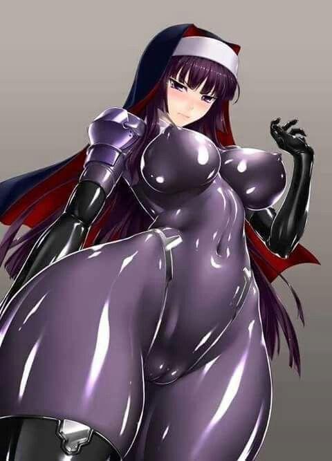 Sexy latex hentai
