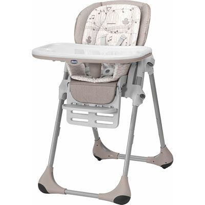 Chaise haute bébé polly 2 en 1 chick to chick - CHICCO - 120€