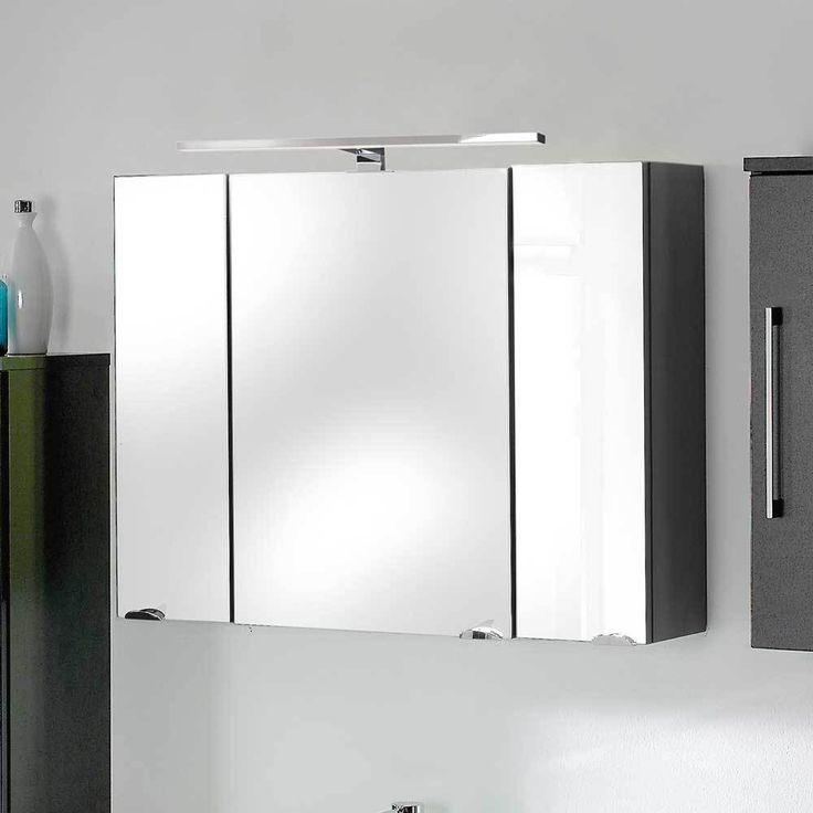 3D Spiegelschrank in Anthrazit mit Licht Jetzt bestellen unter: https://moebel.ladendirekt.de/bad/badmoebel/spiegelschraenke/?uid=cb1b102e-7267-5946-9493-8ee919094729&utm_source=pinterest&utm_medium=pin&utm_campaign=boards #badezimmerkommode #bad #beistellschrank #spiegelschrank #spiegelschraenke #badschrank #badmoebel #badspiegelschrank #spiegel #badeschrank #lichtspiegelschrank #badezimmerspiegelschrank #badezimmer