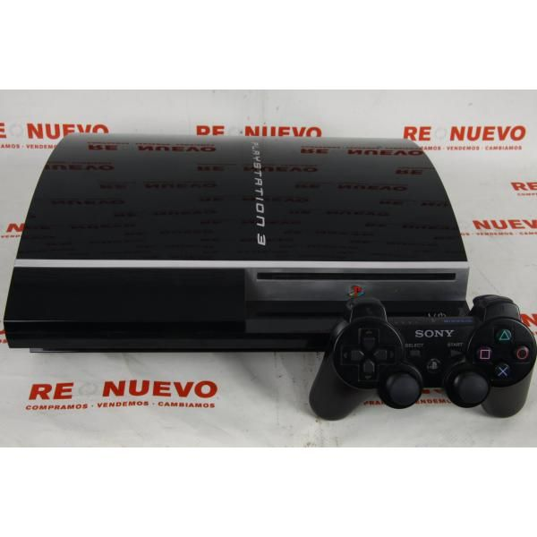 Consola PS3 Fat de 60Gb + Call of Duty Black Ops 2 E264813 de segunda mano