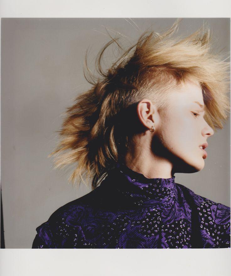 #haircut #creativehaircuts #haireducation  #hairbrained #hairmagazine #salon #saloneducation #haircolor #hairstyling #barbering #hair #menshair #hairdresser #hairstylist #gseducation #sassoon #blonde #fringe #purple #shorthair #model #photography