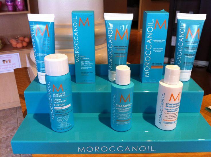 Travel size Moroccanoil.