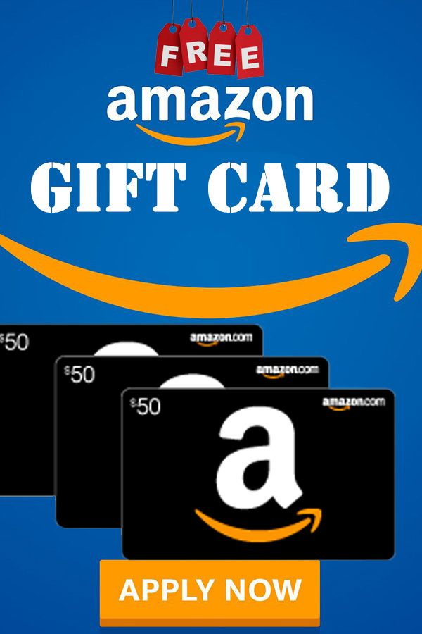 Amazon Free Gift Card How To Get Free Amazon Gift Cards In 2021 Amazon Gift Cards Amazon Gifts Amazon Gift Card Free