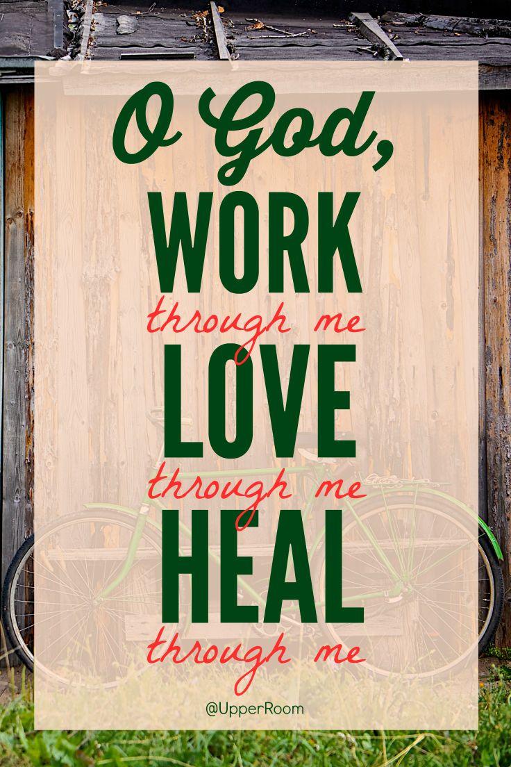 north face 800 O God  work through me  love through me  heal through me