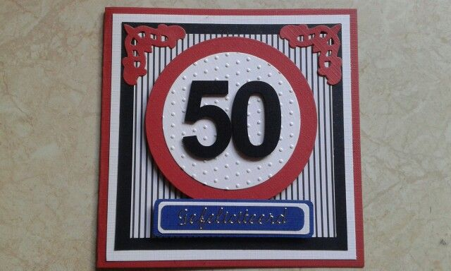 50 jaar kaart