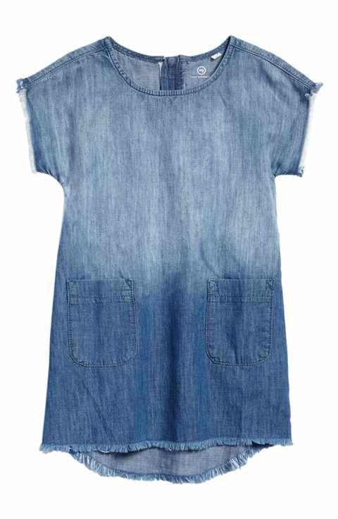 ag adriano goldschmied kids Dip Dye Dress (Toddler Girls & Little Girls)