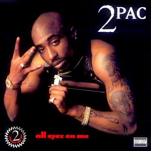 All Eyez On Me - the 1st double disc rap album recorded by a single artist