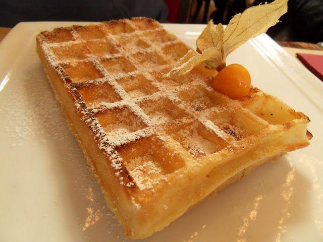 Diana's Cook Blog: Bruxelles. La gaufre bruxelloise.