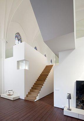 Zecc Architecten Utrecht: Herbestemming kerk tot woning te Utrecht