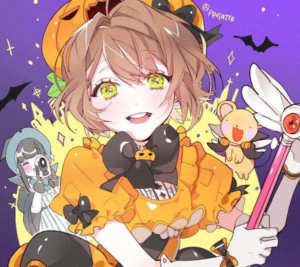 Halloween Anime girl