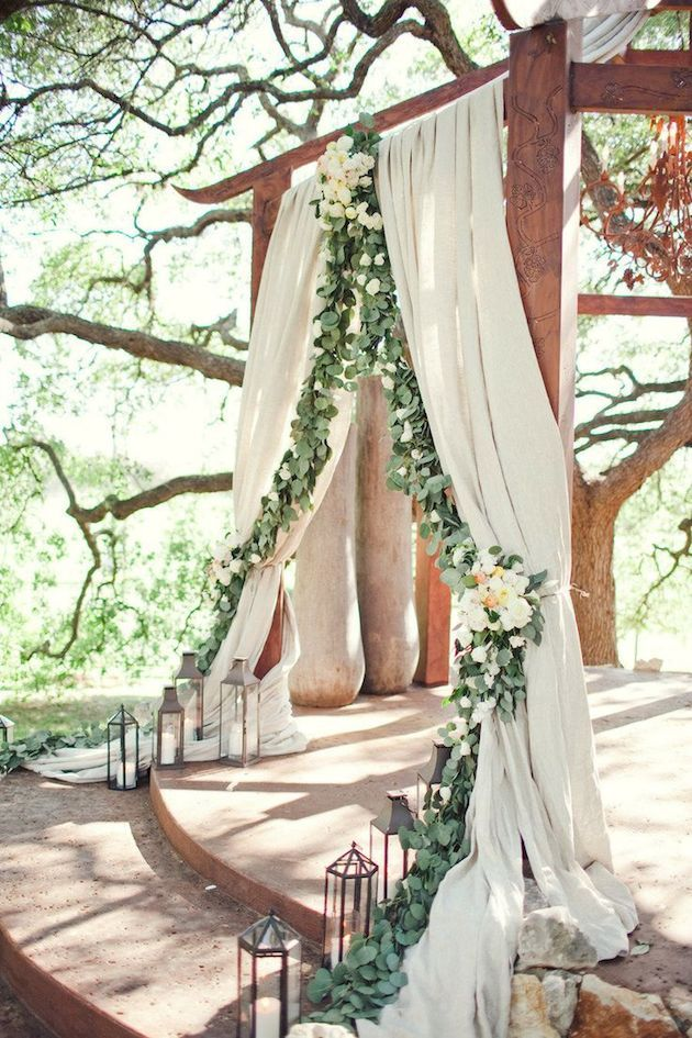 Foliage is the new Flowers | Bridal Musings Wedding Blog  http://FashionCognoscente.Blogspot.com