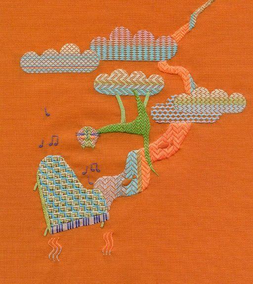 El blog de Dmc: Entrevistamos a Guillermina Baiguera, bordadora argentina