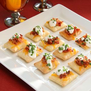 Pepperidge Farm® Puff Pastry - Recipe Detail - Bacon and Cheddar Puff Pastry Crisps
