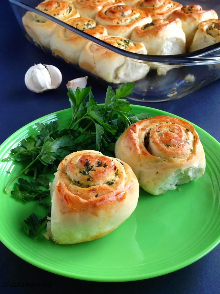 Кулинарные моменты: Чесночные булочки