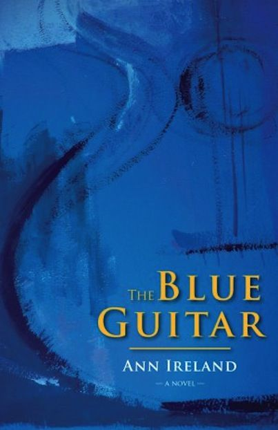 """Ann Ireland took about a decade to publish another novel after her award-winning """"A Certain Mr. Takahashi"""".   We are ecstatic to let you know that she will be attending the 2014 Book Lover's Ball with her new book, """"The Blue Guitar"""". It has been described in reviews as a page-turner about an international classical guitar competition in Montreal."""