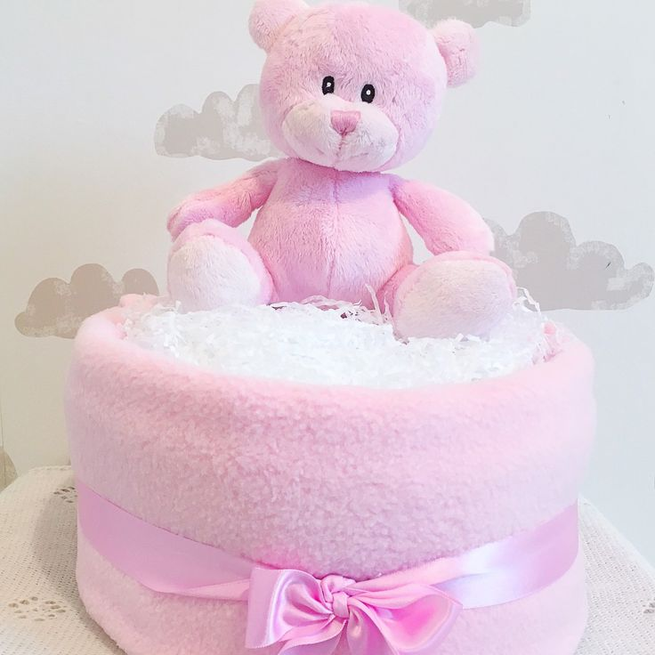 Looking for a gift for a baby girl ? Why not order our one tier nappy cake ? Simple yet beautiful gift containing essential items for the little one.   #babygifts #babygiftsets #babyshower  #etsy #etsysuccess #etsysellers #etsytribe #etsygifts #nappycakes