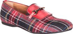Giovanni Marquez  Plaid - Rosso Leather