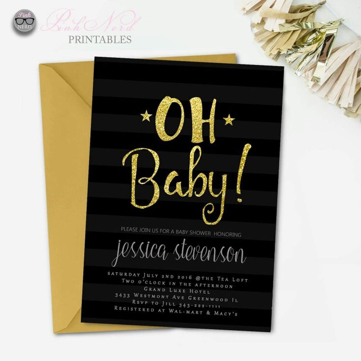 printable horse birthday party invitations free%0A Baby shower invitation  Printable Oh boy baby shower invitation invitations  baby shower boy   cheap