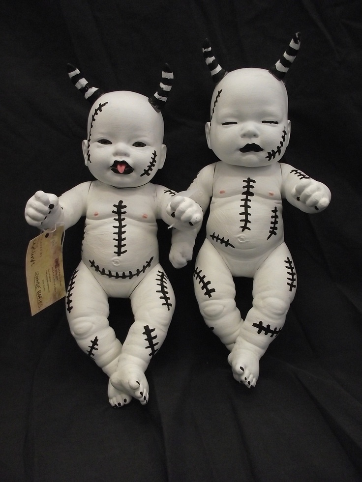 Gothic Baby Doll Gothic Dolls Twin Baby Ghouls With