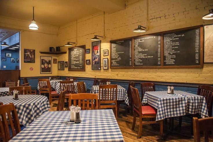 Allen's Toronto's top pub Home decor, Restaurant, Table