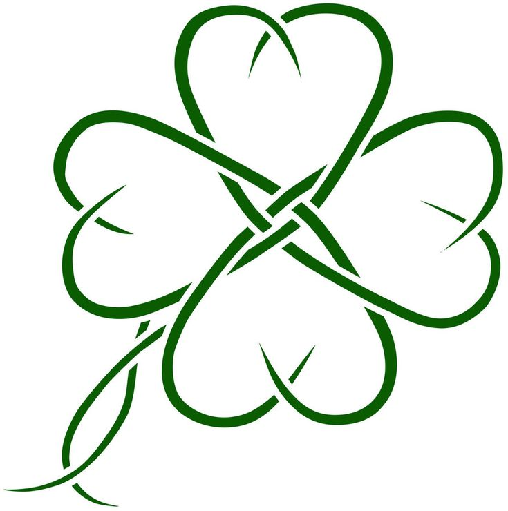 I know I want some kind of shamrock for my next tattoo...I like this one, but it missing something to me.