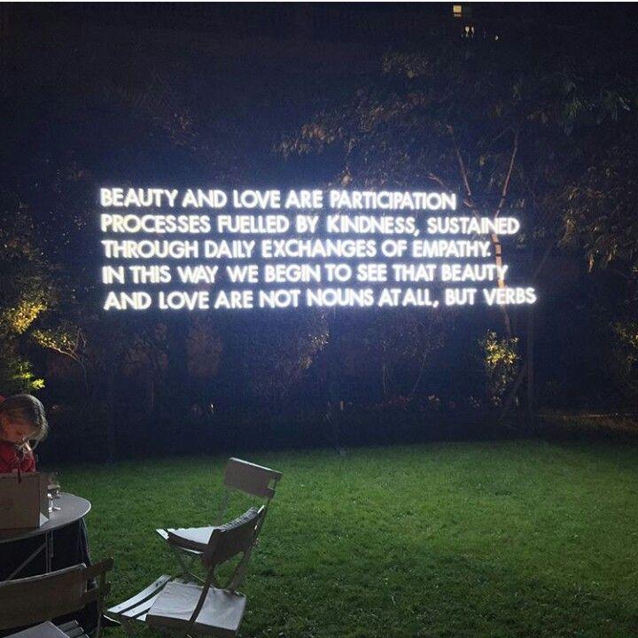 Beauty - Love - Kindness - Empathy   [Robert Montgomery]