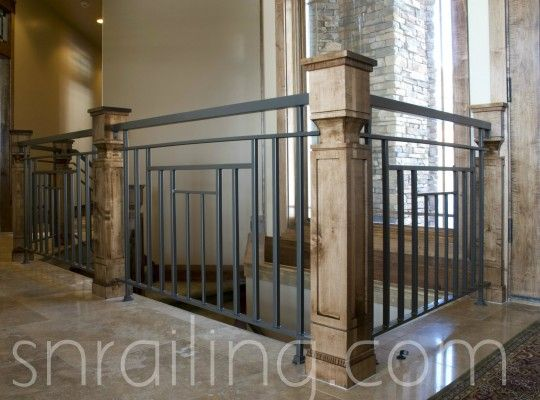 Residential Railings   Traditional   Staircase   Salt Lake City   SN Custom  Railing, Inc