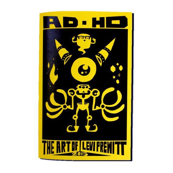 ADHD: The Art of Levi Prewitt 2015 by Levitzo on Etsy