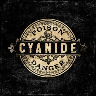 Cyanide Vintage Poison Label by Ophelia's Art