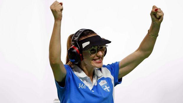 «Χρυσή» για δεύτερη φορά η Κορακάκη στο Παγκόσμιο Κύπελλο > http://arenafm.gr/?p=247703