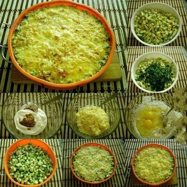 Кабачки, запеченные с сыром | Школа шеф-повара