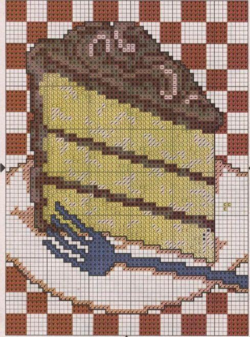 Motivos para cocina en punto de cruz :: Diseños para labores de cocina bordadas a punto de cruz
