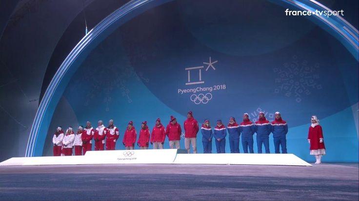 VIDEO. JEUX OLYMPIQUES PYEONGCHANG 2018 / SKI ALPIN / EQUIPES MIXTES. La médaille d'or pour l'équipe Suisse, qui a dominé l'Autriche en finale. Le bronze pour la Norvège. …