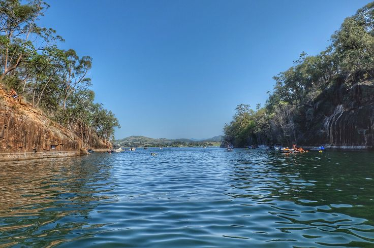 Lake Moogerah. Qld. Australia.