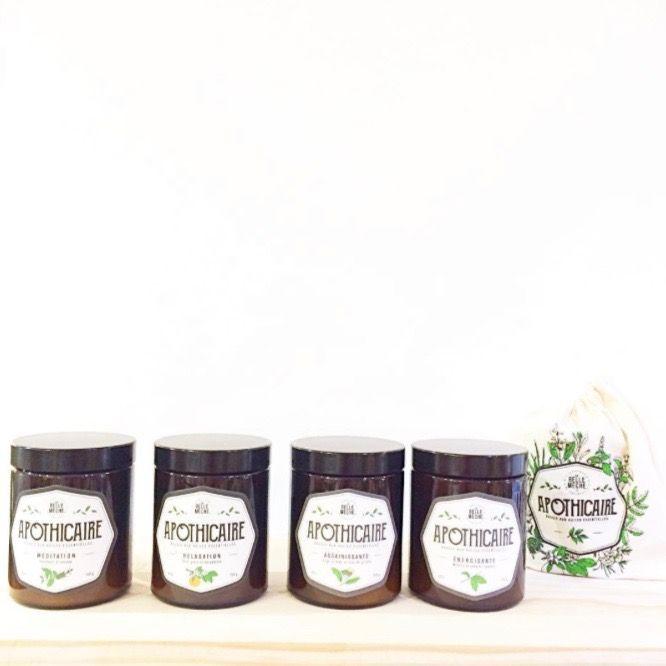 18 best apothicaire bougies aux huiles essentielles images on pinterest apothecary candle. Black Bedroom Furniture Sets. Home Design Ideas