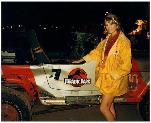 Best Jeep Wrangler >> Patricia Tallman as Laura Dern's stunt double in Jurassic Park.   Jurassic Park/Jurassic World ...