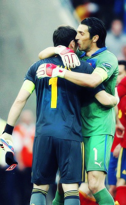 Iker Casillas & Gianluigi Buffon