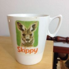 vintage Skippy the Bush Kangaroo cup mug retro Bessemer collectable - kyp