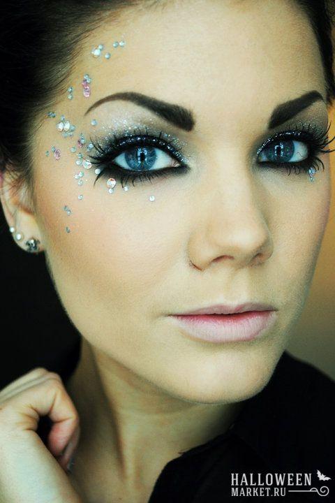 #halloweenmarket #halloween #angel #costume  #ангел #грим #макияж Макияж (грим) ангела на хэллоуин (фото)